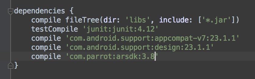 ARDroneSDK3 API Reference